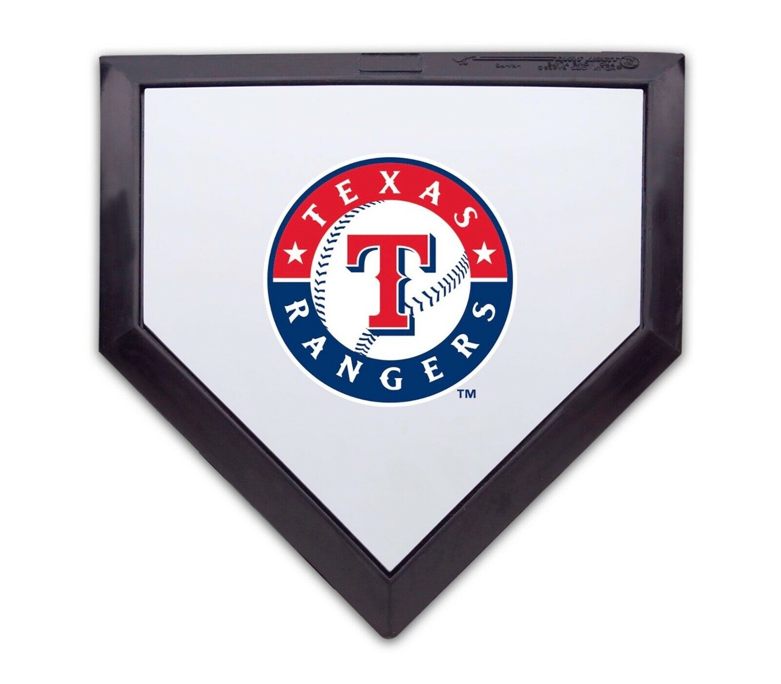 Details about Texas Rangers Authentic Full Size MLB Logo Home Plate.