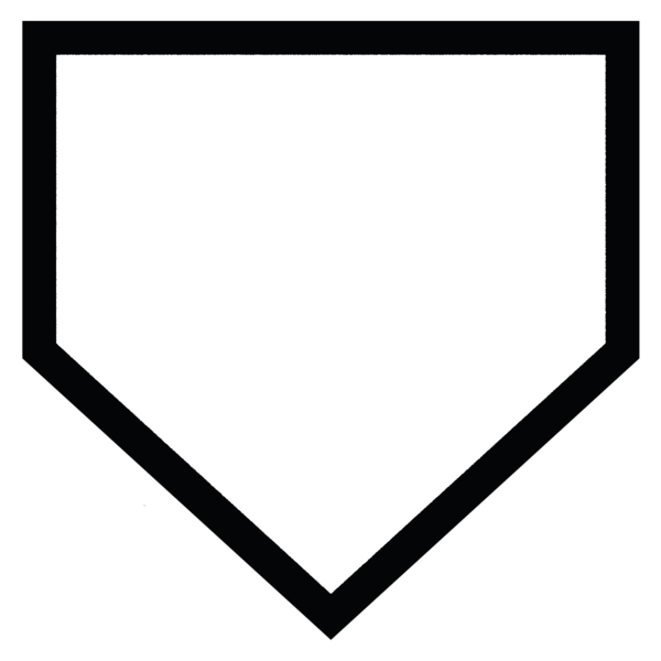 Small Home Plate Plaque #59483.