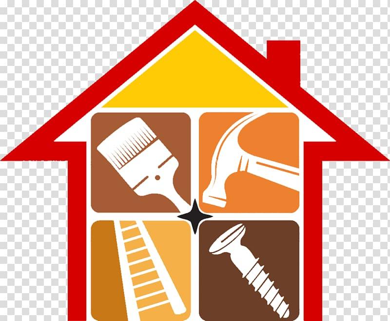 Home repair Renovation Home improvement Logo, Home Appliances.