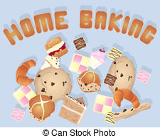 Home baking Clipart and Stock Illustrations. 4,879 Home baking.