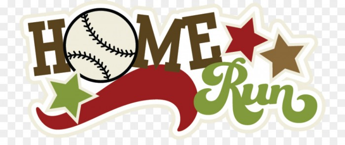 Home Run Baseball Clip Art Suddenly Cliparts Softball Home Run Png.