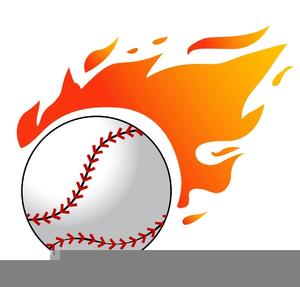 Baseball Homerun Clipart.