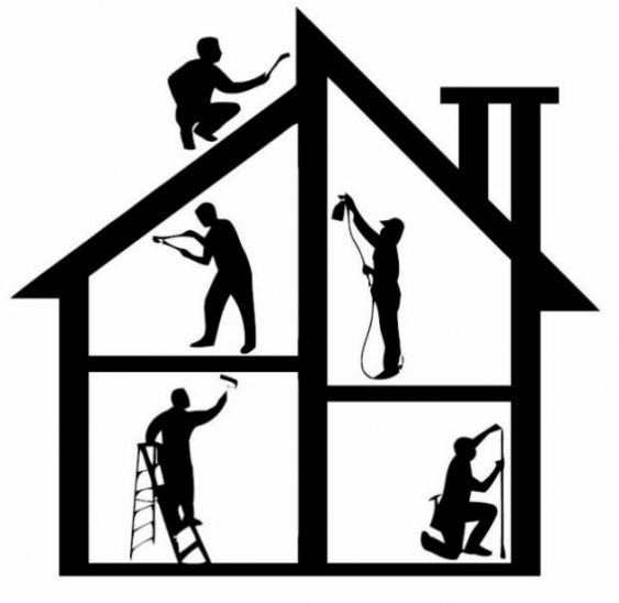 13901 Home free clipart.