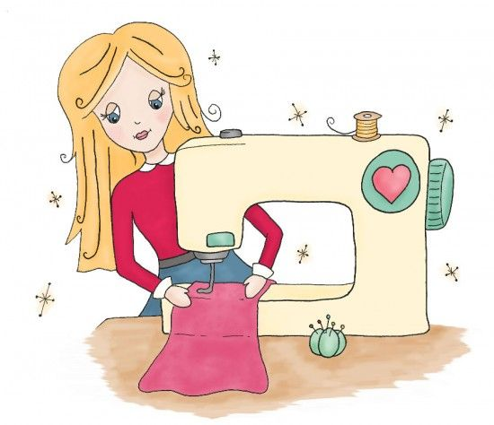 1000+ images about Sewing machines illustrations on Pinterest.