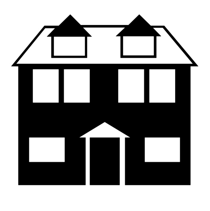Free House Silhouette, Download Free Clip Art, Free Clip Art.
