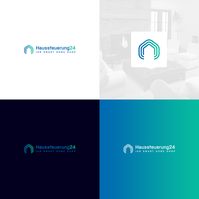 Logo for home automation (Smart Home business) by brand.