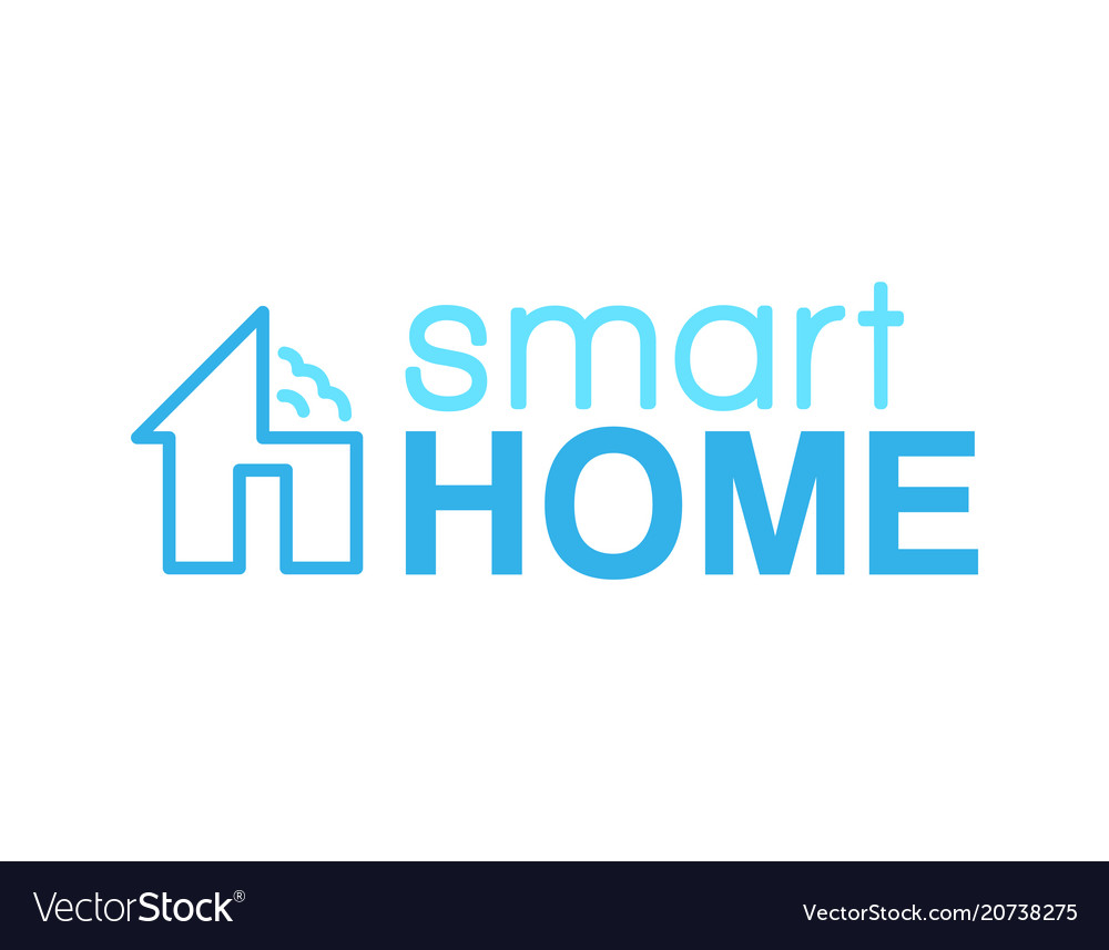 Smart home logo.