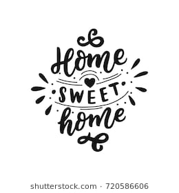 Home sweet home clipart black and white 3 » Clipart Station.