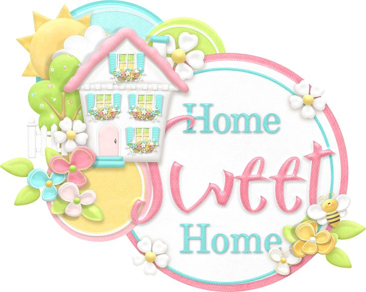 17 Best images about ClipArt: Home~Sweet~Home on Pinterest.