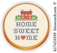 Home sweet home Clipart Vector Graphics. 6,413 home sweet home EPS.