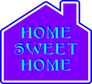 Home Sweet Home Clip Art at Clker.com.