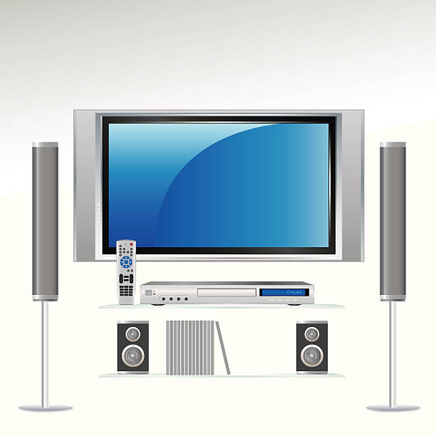 Home Theater Clip Art, Vector Images & Illustrations.