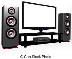 Home theater Clipart and Stock Illustrations. 1,648 Home theater.