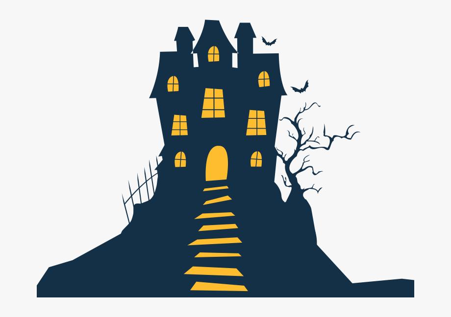 Haunted House Halloween Homeaway Clip Art.