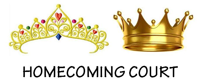 Homecoming Court Clipart.