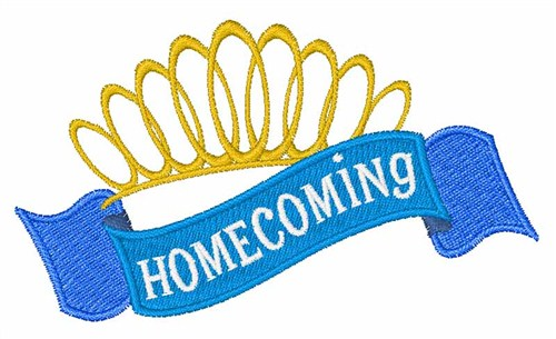 Homecoming crown clipart.