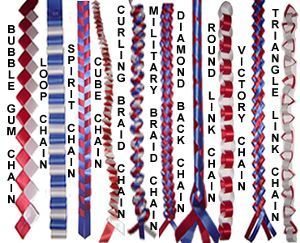 How to Make Homecoming Mums Garters and Braids.