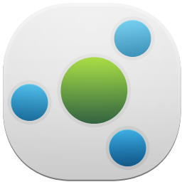 HomeGroup Tile Icon, PNG ClipArt Image.