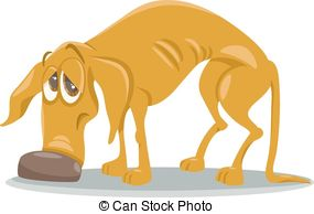 Homeless animal clipart.
