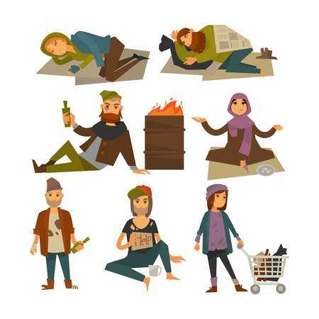 3,331 Homeless Cliparts, Stock Vector And Royalty Free Homeless.