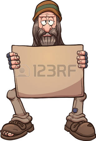 665 Homeless Man Cliparts, Stock Vector And Royalty Free Homeless.