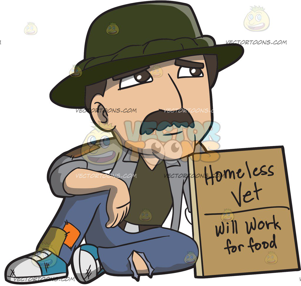 Homeless people clipart 2 » Clipart Station.