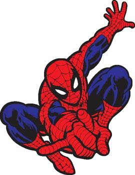 Spiderman 1 Clipart Picture Free Download.