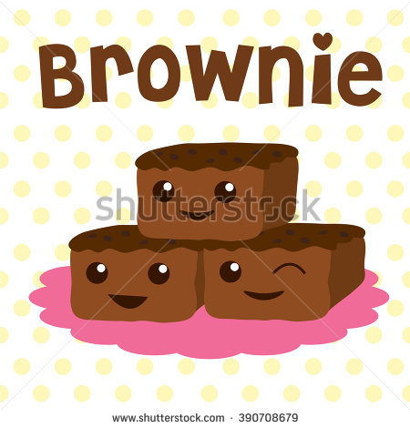 Brownie Stock Images, Royalty.