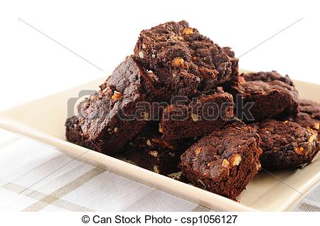 Picture of Brownies dessert.