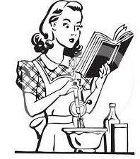 Free retro homemaker Clipart.
