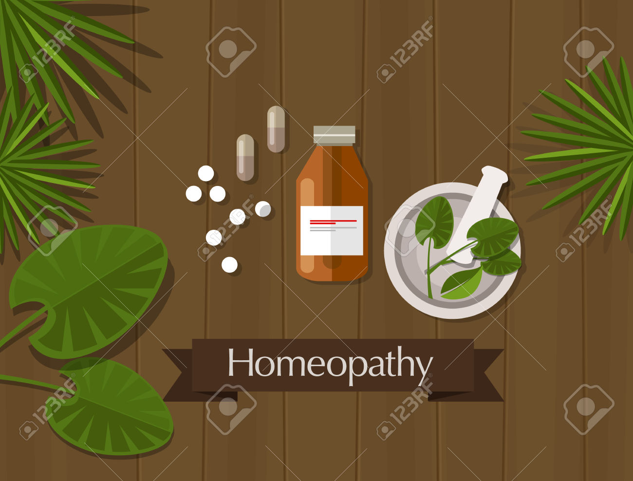 Homeopathic Clip Art.
