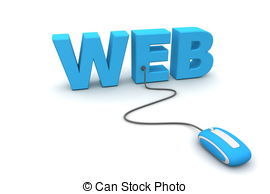 Website Homepage Clipart.