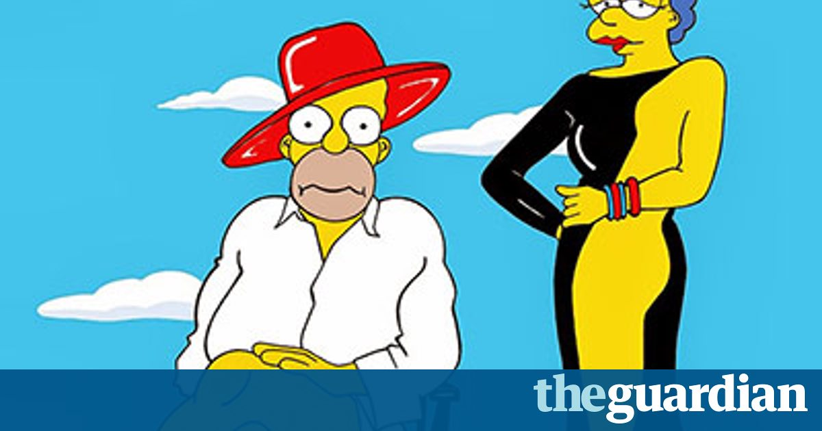 The Simpsons get raunchy.