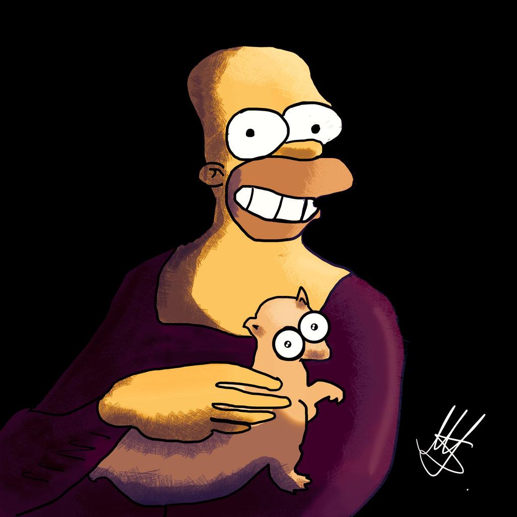 Homer by MartinAmateur on DeviantArt.