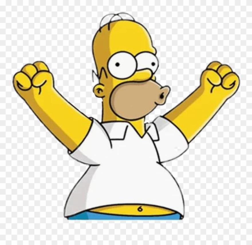 Los Simpson Homero @xcataisix Homero Simpson Stickers.