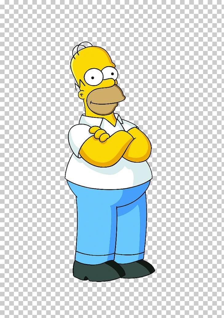 Homer Simpson Marge Simpson Grampa Simpson Bart Simpson.