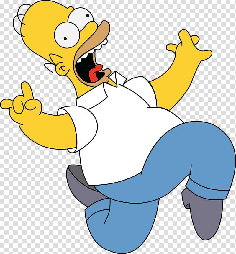 Homer Simpson Bart Simpson , Homero transparent background.