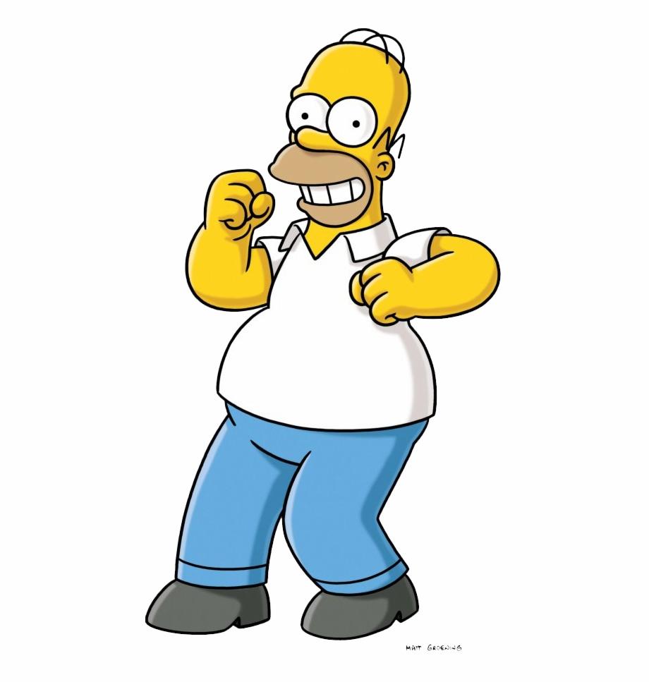 alimenta A Homero Simpson.