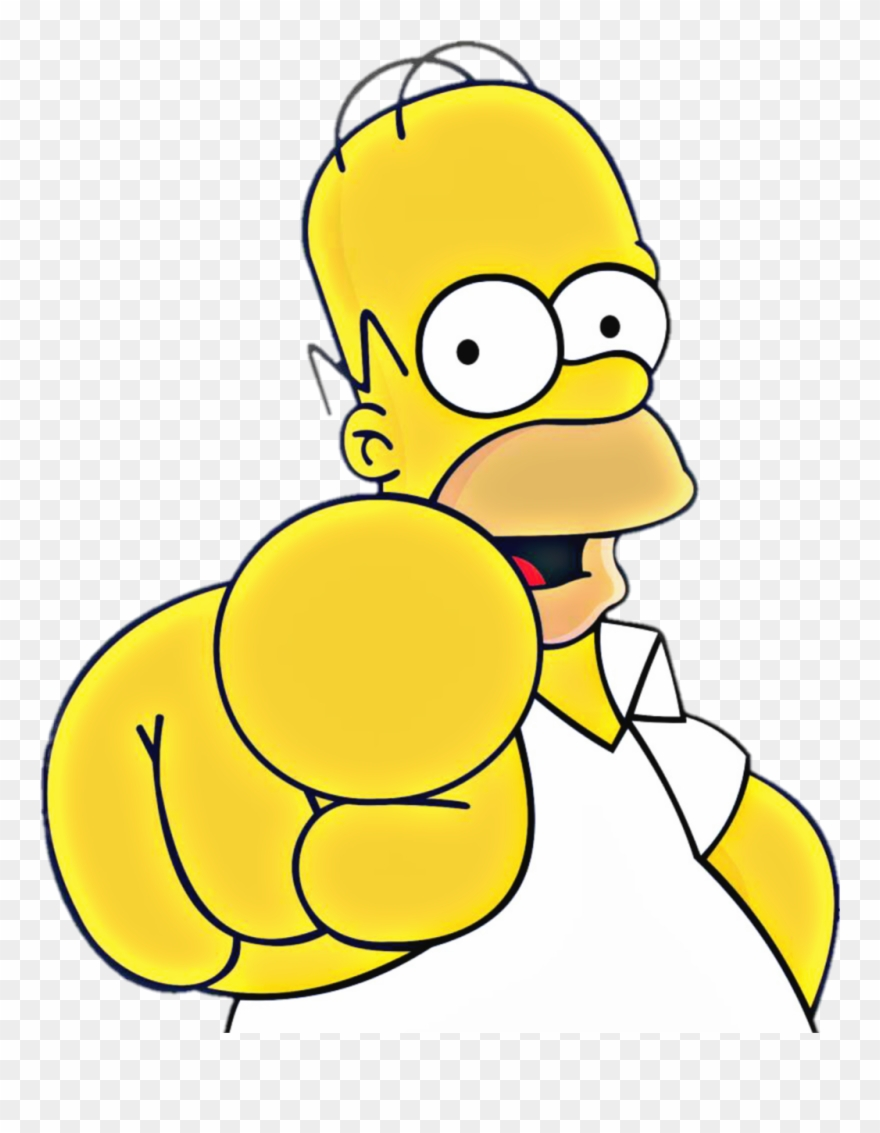 Homer Simpson Bebendo Png.