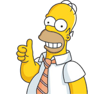 Homer Simpson PNG.