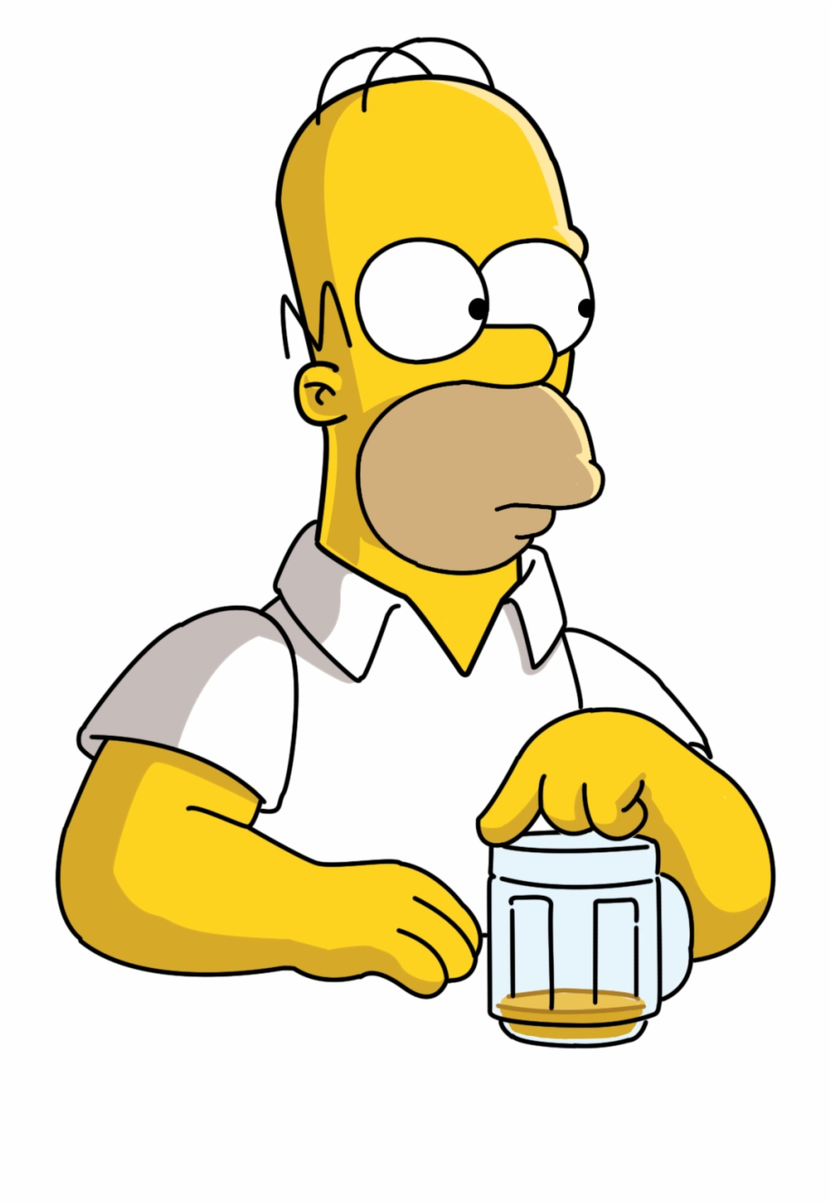 Homer Simpson, Transparent Png Download For Free #44890.