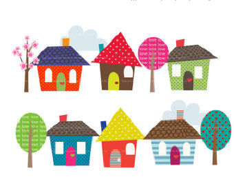 Free Clip Art Homes.