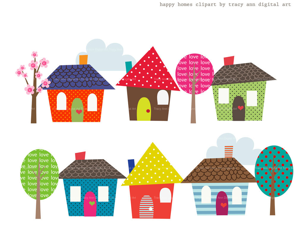 Homes Clipart.