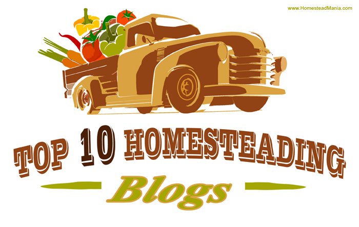 Top 10 Homesteading Blogs.