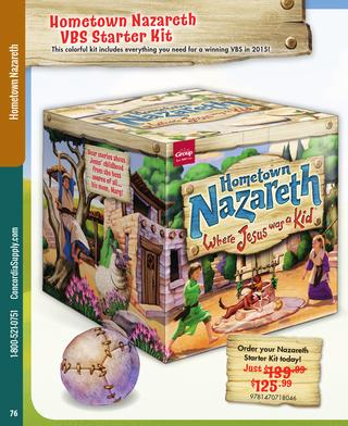 Concordia Supply VBS 2015: Hometown Nazareth by Danny B.