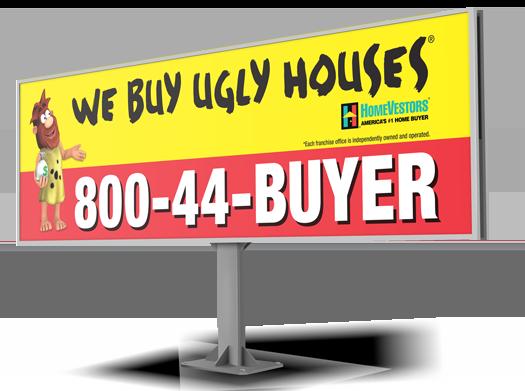 We Buy Ugly Houses®.