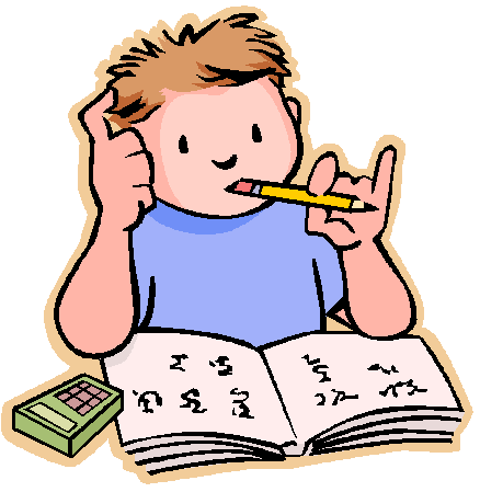 Homework Clip Art For Kids.