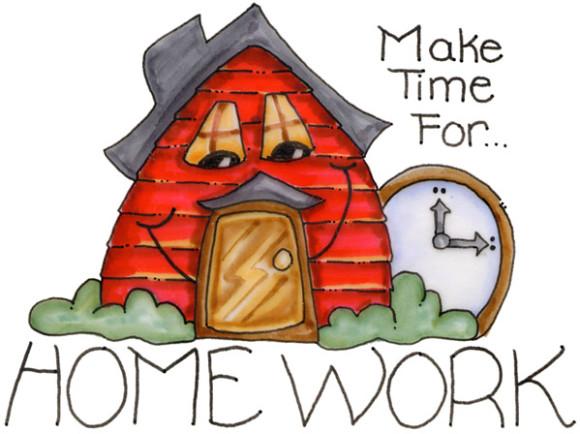 Homework Clipart & Homework Clip Art Images.