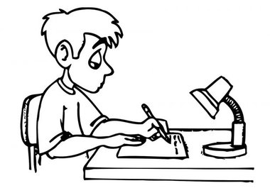homework clip art for kids free clipart black white.