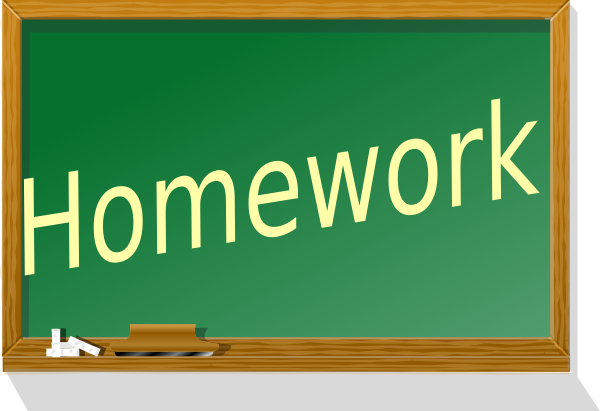 Homework Clip Art at Clker.com.